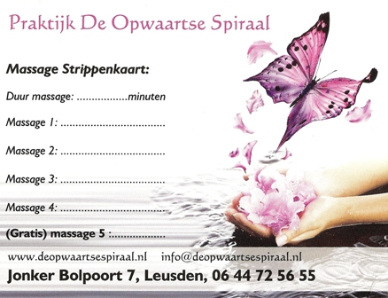 Massage Strippenkaart